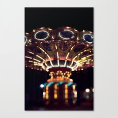 The Rides, The Swings Canvas Print