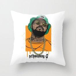 Schoolboy Q Throw Pillow