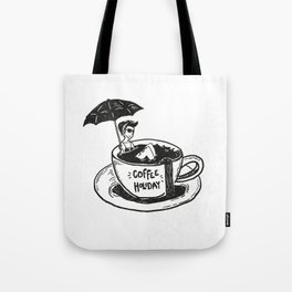 Coffee Holiday Tote Bag