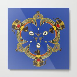Bast's Loving Triad Metal Print