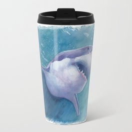 Great White Shark Travel Mug