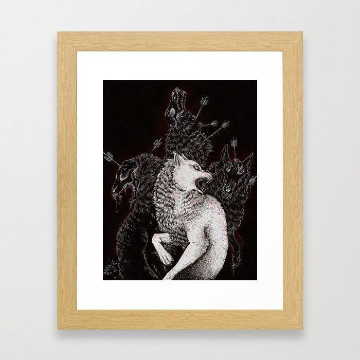 Survivor's Guilt Framed Art Print
