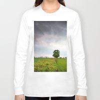 irish Long Sleeve T-shirts featuring Irish landscape by Aaron MacDougall