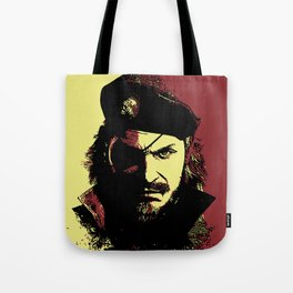 Big Boss (naked snake from metal gear solid) Tote Bag