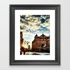 London by iPhone- The Palace Theatre Framed Art Print