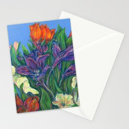 New Years Bouquet  Stationery Cards
