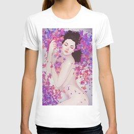 Flower Bath 6 T-shirt