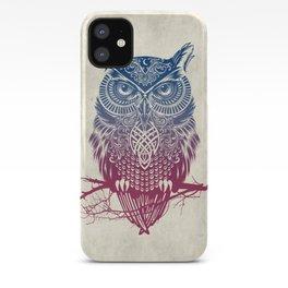 Evening Warrior Owl iPhone Case