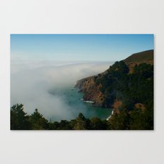 Marin Headlands Fog Canvas Print