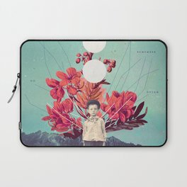 Standing at the Threshold of Time Laptop Sleeve