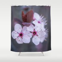 blossom Shower Curtains featuring Blossom by Michelle McConnell