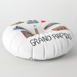 Grand Rapids Floor Pillow