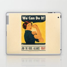 Leia the Riveter 2: The Alliance Strikes Back Laptop & iPad Skin