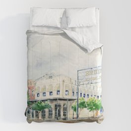 Downtown Brookhaven Comforters