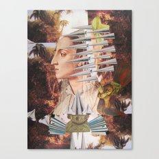 Laura The Iron Maiden Canvas Print