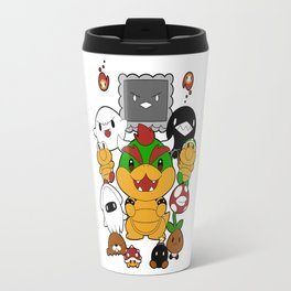 [Super Mario Bros] Baddies! Travel Mug