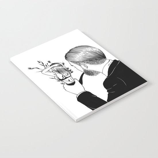 Man In Love Notebook
