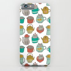 Pattern Project #5 / Cats and Pots Slim Case iPhone 6s