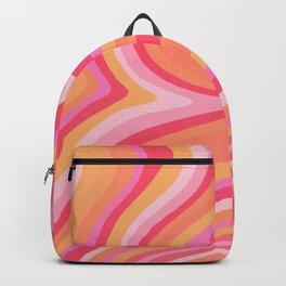 Sunshine Melt – Pink & Peach Palette Backpack