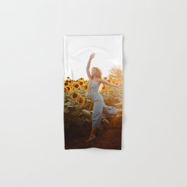 flower photography by Blake Cheek Hand & Bath Towel