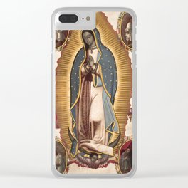 Virgin of Guadalupe, 1700 Clear iPhone Case