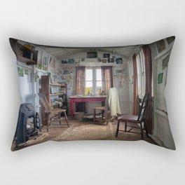Dylan Thomas writing shed Rectangular Pillow
