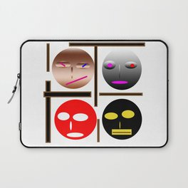 Wellcome the emojes Laptop Sleeve