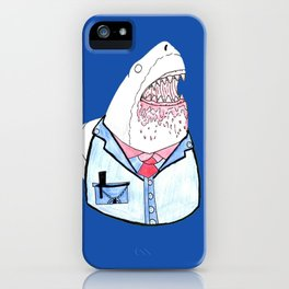 Business Shark iPhone Case