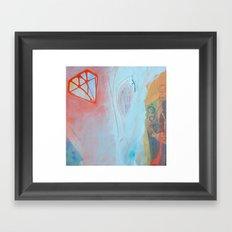 Crystalization Framed Art Print