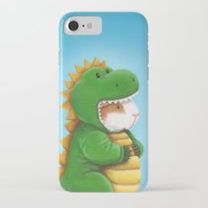 Guinea Pig in a Dinosaur Costume - Peegosaurus Rex iPhone 7 Slim Case