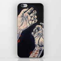 depression iPhone & iPod Skins featuring Depression by ObscuredPunk
