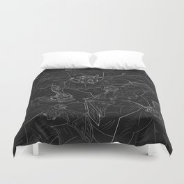 Bat Attack Duvet Cover
