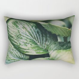 Garden Greens 2 Rectangular Pillow