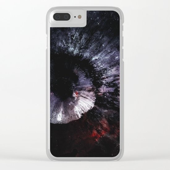 The Eye of the Moon Clear iPhone Case