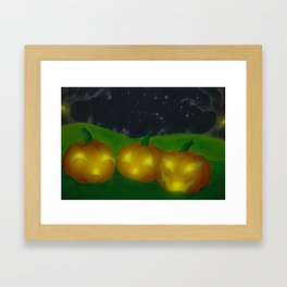 Lantern Trio Framed Art Print