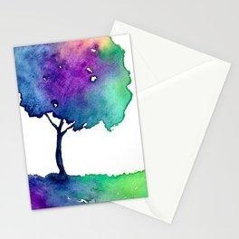 Hue Tree II Stationery Cards