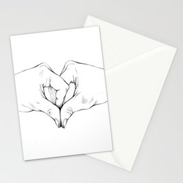 Untitled Hands No. 17 Stationery Cards