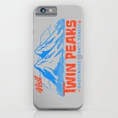Visit Twin Peaks (orange) Slim Case iPhone 6s