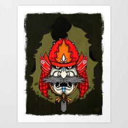 SAMURAI II Art Print