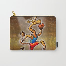 Olympic Basketball Giraffe Carry-All Pouch