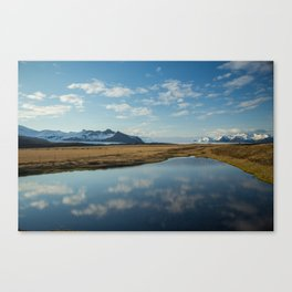Scenes Along the Golden Circle Canvas Print