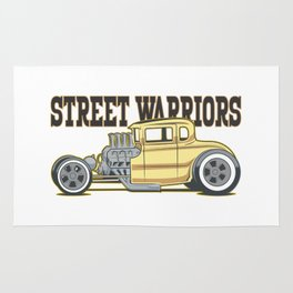 Street Warriors II Rug