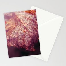 water leaf Stationery Cards