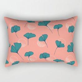 Bright Ginkgo & Dots #society6 #decor #buyart Rectangular Pillow