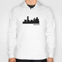 houston Hoodies featuring Houston, Texas by Fabian Bross