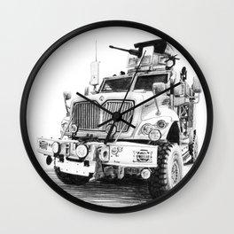 MRAP Wall Clock