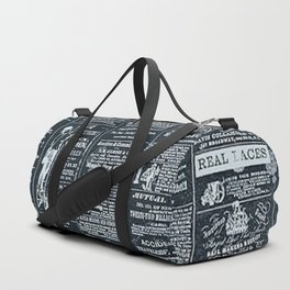 Vintage News | Newspaper | Negative | Print Shop Duffle Bag