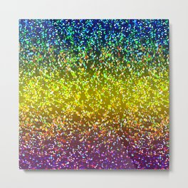 Glitter Graphic Background G107 Metal Print