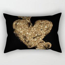 Triple Hearts Rectangular Pillow