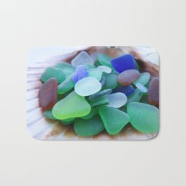 Beach Glass, assorted colors Bath Mat